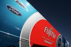 Fujitsu racing team truck