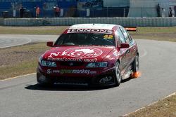 Fujitsu V8 Friday practice