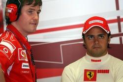 Rob Smedly and Felipe Massa