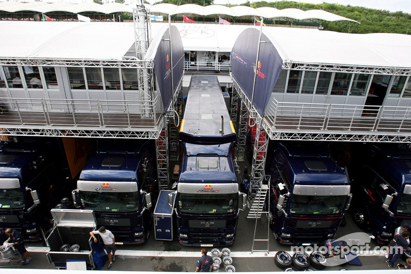 El Red Bull Racing y el Scuderia Toro Rosso Tree House