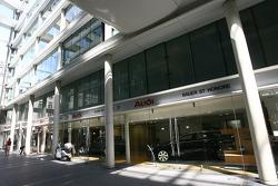 An Audi dealership in Saint-Honoré
