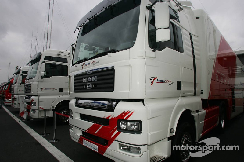 Trailers de Toyota F1 Team