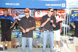 RC cars challenge: Martin Truex Jr. and Kyle Busch