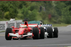 Felipe Massa leads Robert Kubica