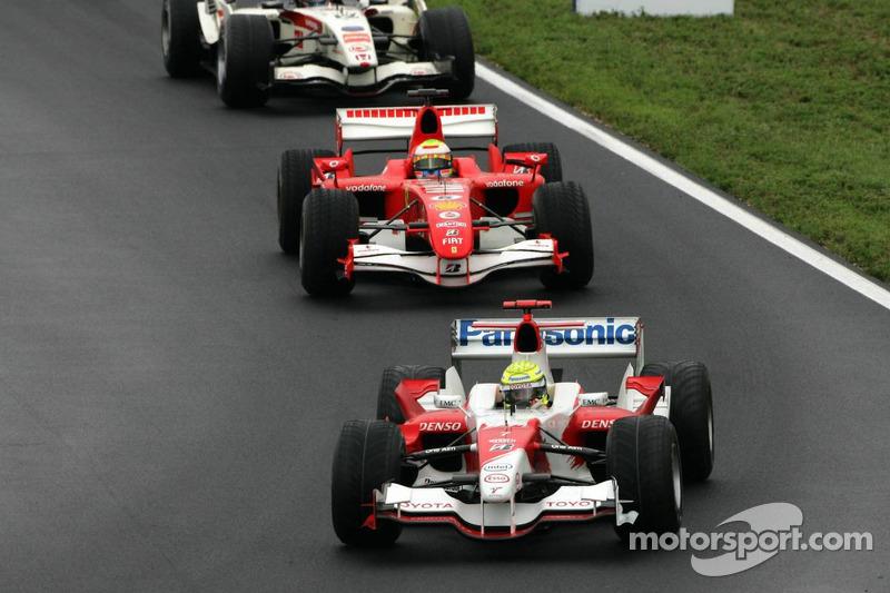 Ralf Schumacher y Felipe Massa