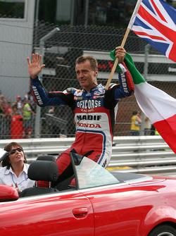 Pierfrancesco Chili's emotional farewell to Brands Hatch