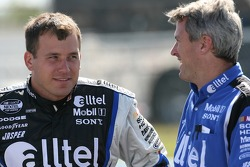 Ryan Newman and crew chief Matt Borland