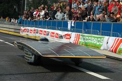 The university of Delft's world record Nuna 3 Solar car