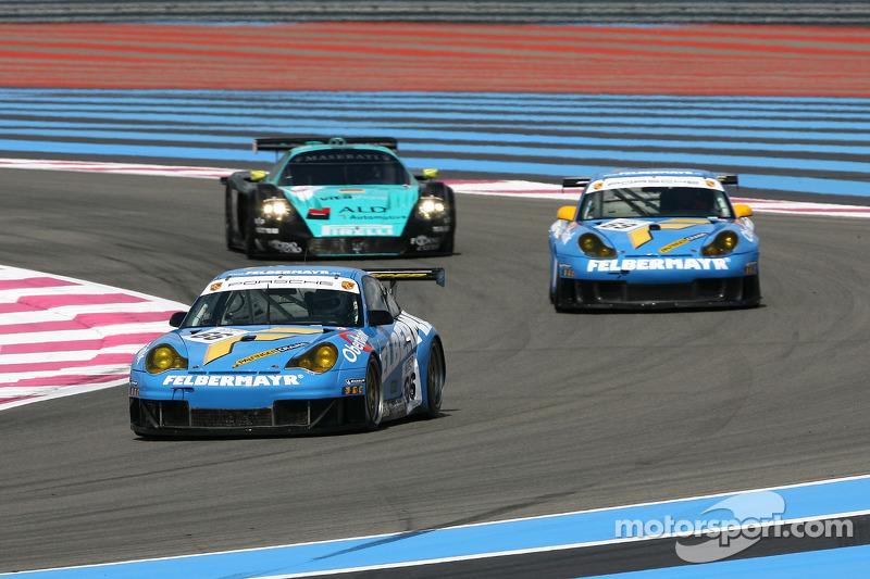 #66 Team Felbermayr-Proton Porsche 996 GT3 RSR: Christian Ried, Horst Felbermayr Jr.
