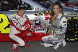 Jeff Gordon, Hendrick Motorsports with Pole girl