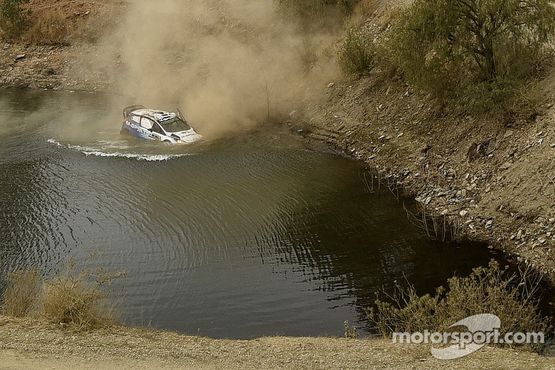Unfall: Ott Tänak und Molder Raigo, M-Sport Ford Fiesta WRC