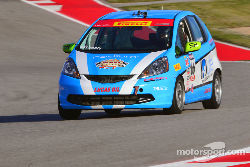 #66 Shea Racing, Honda Fit: Jay Salinsky