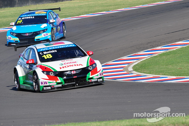 Tiago Monteiro, Honda Civic WTCC, Honda Racing Team JAS