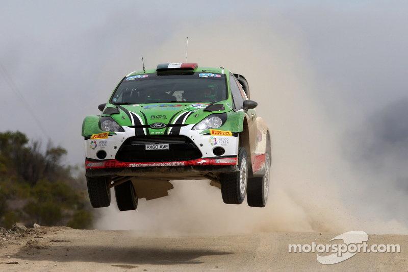 Benito Guerra und Borja Rozada, Ford Fiesta RS WRC
