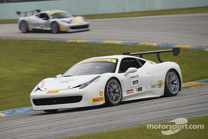 #119 Ferrari of Long Island Ferrari 458CS: Chris Cagnazzi