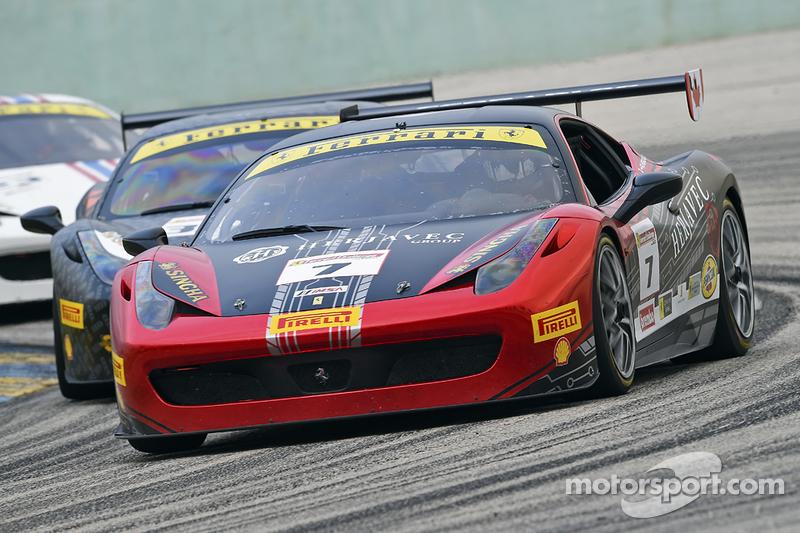 #7 Ferrari of Ontario, Ferrari 458: Robert Herjavec