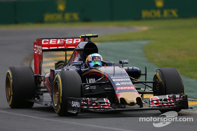 2015 год, Гран При Австралии, Карлос Сайнс, Toro Rosso, 9-е место