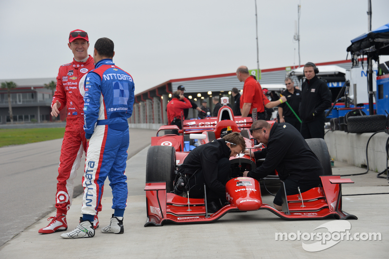 Scott Dixon dan Tony Kanaan, Ganassi Racing