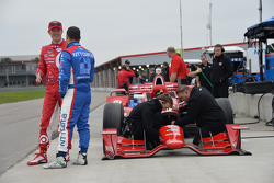 Scott Dixon and Tony Kanaan, Ganassi Racing