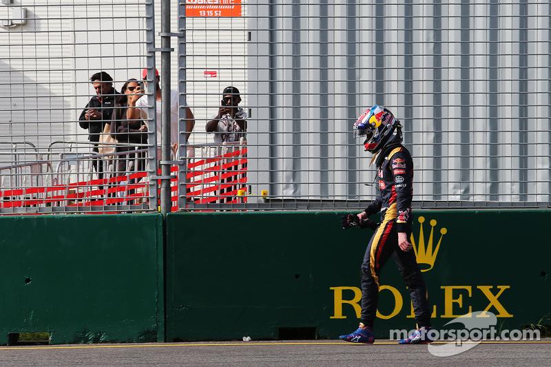 Max Verstappen, Scuderia Toro Rosso retired dari the race