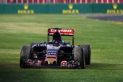 De Scuderia Toro Rosso STR10 van uitvaller Max Verstappen, Scuderia Toro Rosso