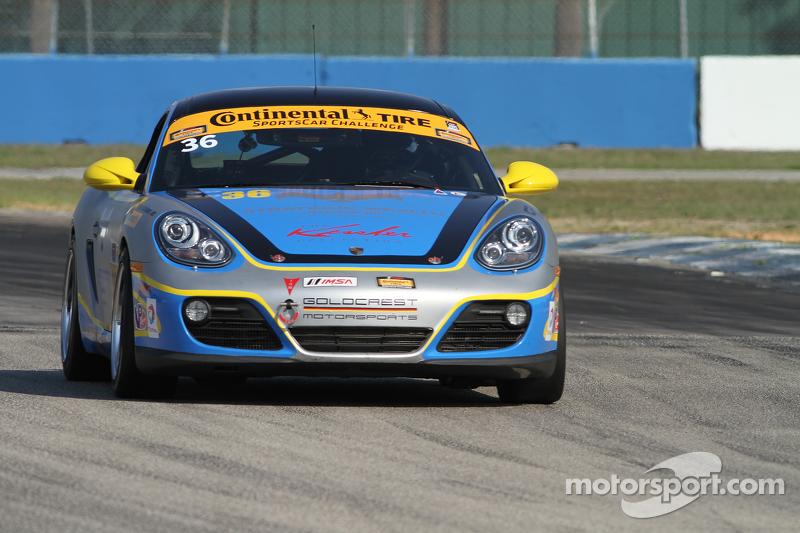 #36 Strategic Wealth Racing, Porsche Cayman: Matthew Dicken, John Lewis