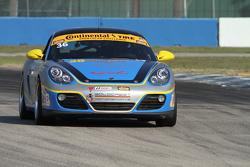 #36 Strategic Wealth Racing,保时捷卡曼: Matthew Dicken, John Lewis
