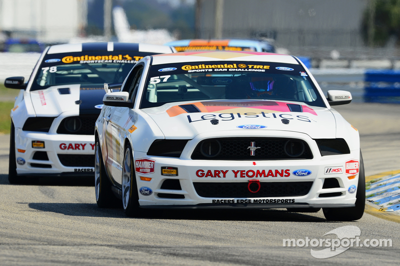 #57 Racers Edge Motorsports,野马Boss 302R: Louis-Philippe Montour, Nick Galante
