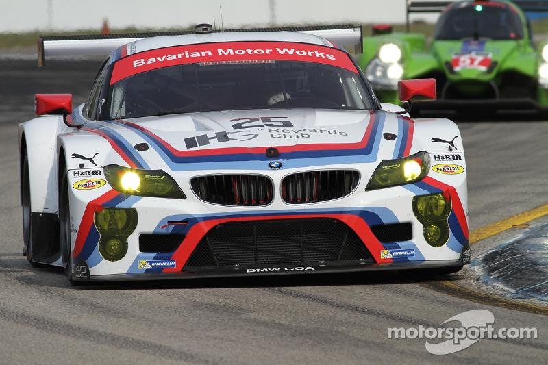 #25 BMW Team RLL, BMW Z4 GTE: Bill Auberlen, Dirk Werner, Augusto Farfus