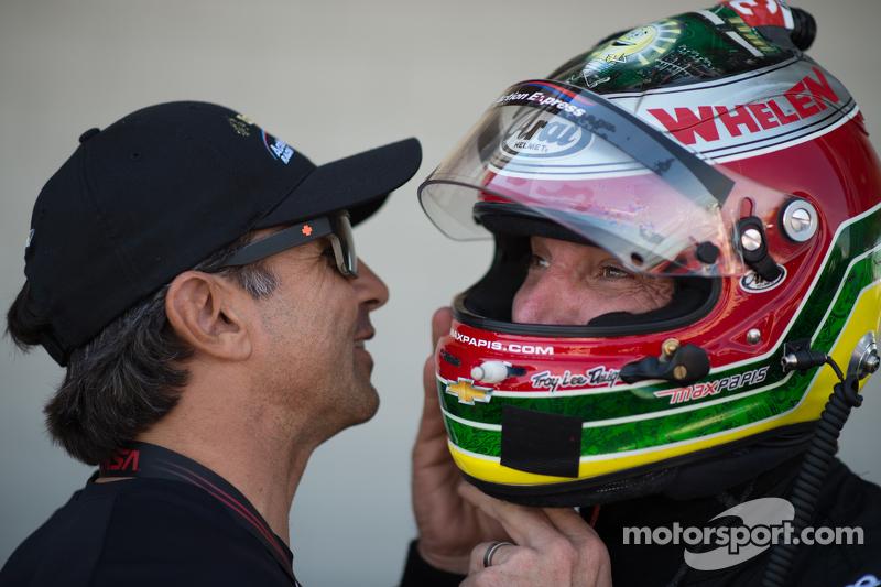 Christian Fittipaldi dan Max Papis