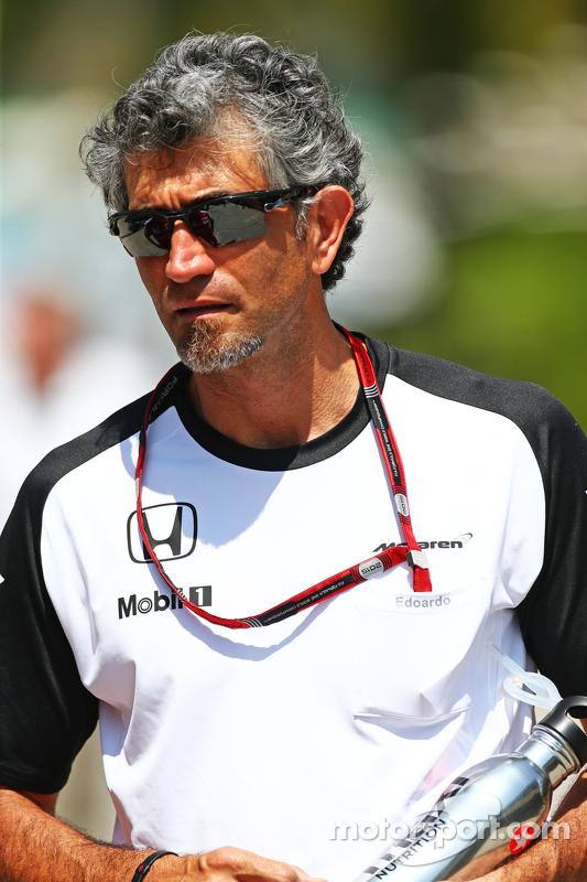 Edoardo Bendinelli, persönlicher Trainer von Fernando Alonso, McLaren
