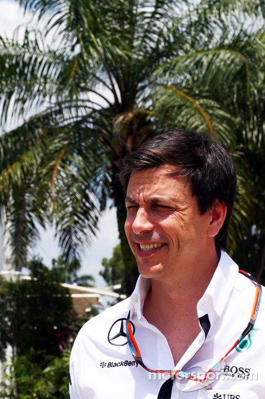 Toto Wolff, Pemegang Saham dan Executive Director Mercedes AMG F1