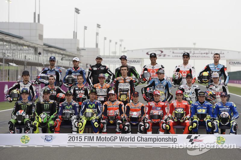 Foto bersama pembalap Tahun 2015