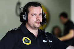Julien Simon-Chautemps, Lotus F1 Team, Renningenieur