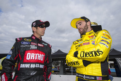 Greg Biffle, Roush Fenway Racing, Ford, Austin Dillon, Richard Childress Racing, Chevrolet