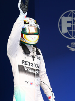 Lewis Hamilton, Mercedes AMG F1 consigue la pole position