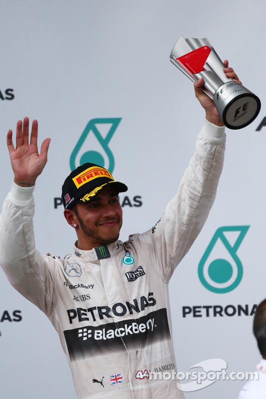 Peringkat kedua Lewis Hamilton, Mercedes AMG F1