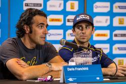 Dario Franchitti con Nicolas Prost