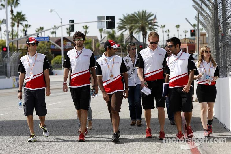 Mahindra Racing, Trackwalk