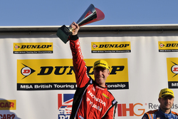 Round 3 Race winner Matt Neal