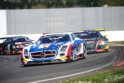 #71 GT Russian Team, Mercedes SLS AMG GT3: Alexei Vesiliev, Christophe Bouchut