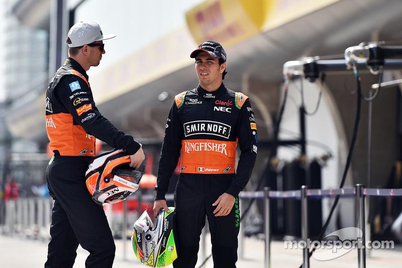 Ніко Хюлкенберг, Sahara Force India F1 з напарником по команді Серхіо Перес, Sahara Force India F1