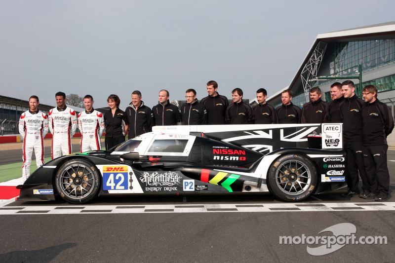 Nissan GT-R LM Nismo und #42 Strakka Racing, Dome Strakka S103-Nissan: Nick Leventis, Danny Watts, Jonny Kane