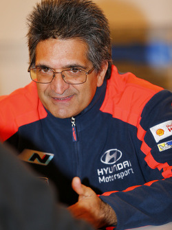 Мишель Нандан, руководитель команды Hyundai Motorsport