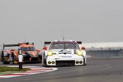 #91 Porsche Team Manthey Porsche 911 RSR: Richard Lietz and Michael Christensen
