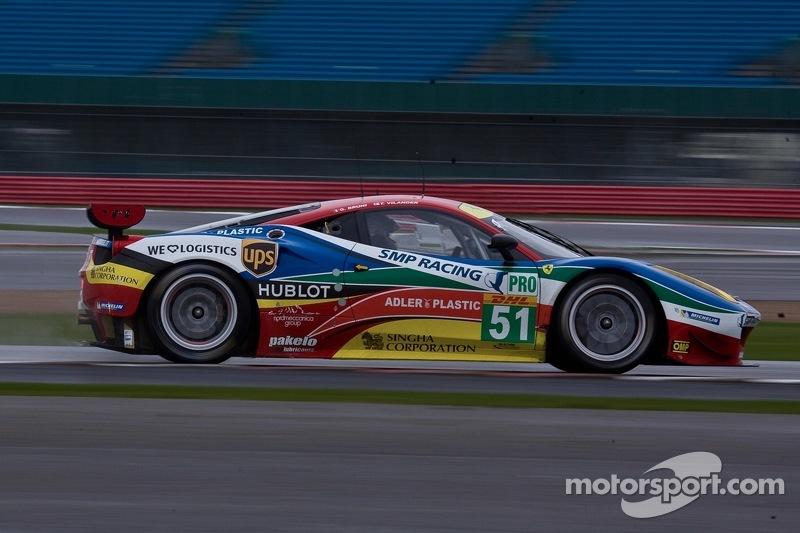 #51 AF Corse Ferrari F458 Italia:  Джанмаріа Бруні, Тоні Віландер
