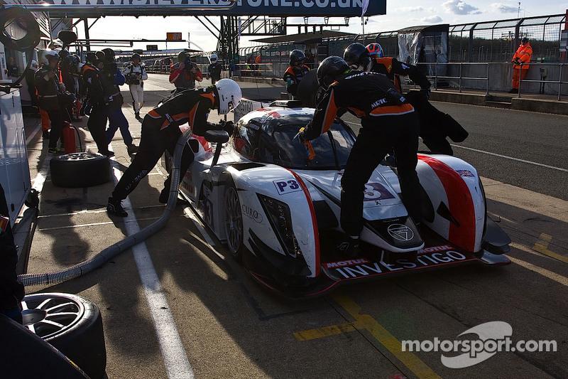 #3 Team LNT, Ginetta Nissan: Chris Hoy, Charles Robertson