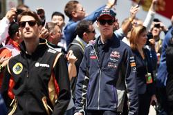 Daniil Kvyat, Red Bull Racing, bei der Fahrerparade