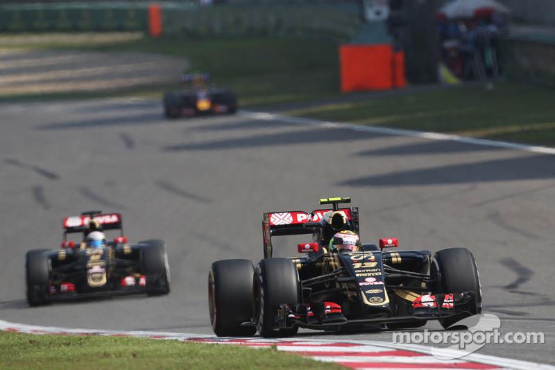 帕斯托·马尔多纳多, 路特斯 F1 E23,领先队友罗曼·格罗斯让, 路特斯 F1 E23