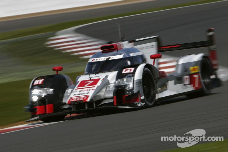 #7 Audi Sport Team Joest R18 e-tron quattro: Марсель Фасслер, Андре Лоттерер, Бенуа Треліє